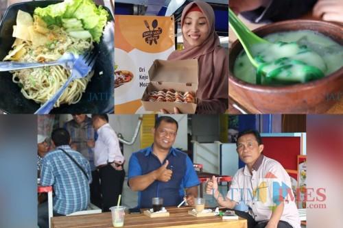 Berbagai Kuliner dan kopi di Terminal Kopi Malang (Dok. MalangTIMES)
