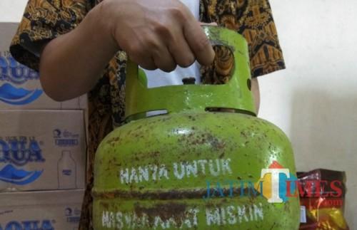 Gas elpiji 3kg (Dok. MalangTIMES)