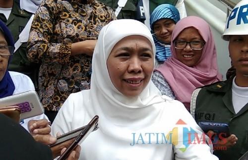 Gubernur Jatim Khofifah Indar Parawansa (Dok. MalangTIMES)