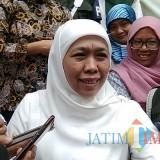 Khofifah Sebut Angka Kemiskinan Tertinggi Jatim di Kabupaten Malang