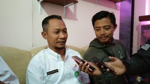 Bagus Hendriawan, Pejabat pelaksana teknis kegiatan Dinas Pendidikan, Pemuda dan Olahraga (foto : Joko Pramono/Jatim Times)