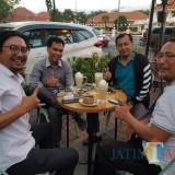 Pertemuan empat sekretaris partai di Jatim dalam membahas Pilwali Surabaya