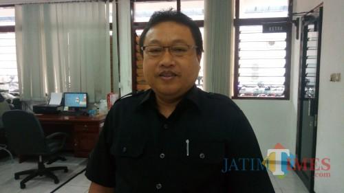 Wakil Ketua Sementara DPRD Kota Blitar, Yasin Hermanto.(Foto : Aunur Rofiq/BlitarTIMES)