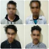 Pesta Miras dan Aniaya 4 Orang, 4 Mahasiswa Diringkus Polisi