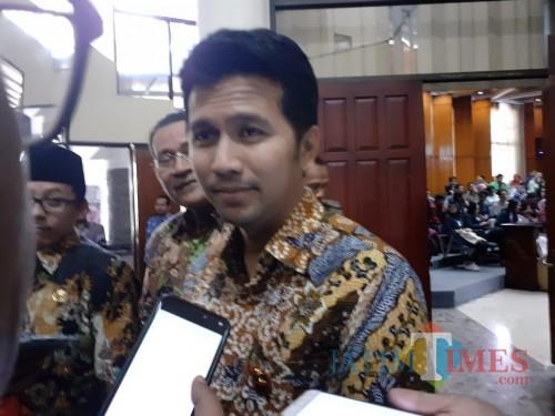Wakil Gubernur Jatim Emil Dardak. (Foto: Imarotul Izzah/MalangTIMES)