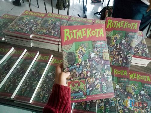 Buku Ritmekota (Foto: Imarotul Izzah/MalangTIMES)