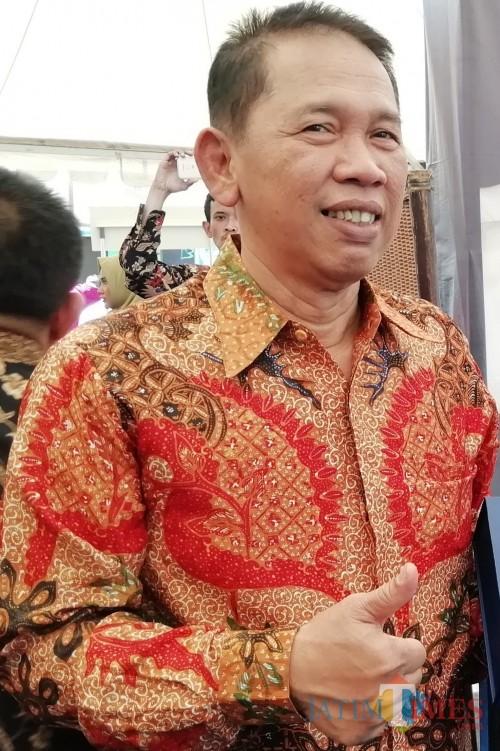 Didik Budi Muljono telah mengetuk pintu rumah Banteng beserta dua balon lainnya untuk mengikuti kontestasi Pilbup Malang 2020 (Nana)