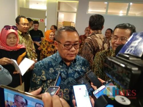 Dirjen Penyediaan Perumahan Kementerian PUPR Dr Ir H Khalawi Abdul Hamid MSC MM. (Foto: Imarotul Izzah/MalangTIMES)