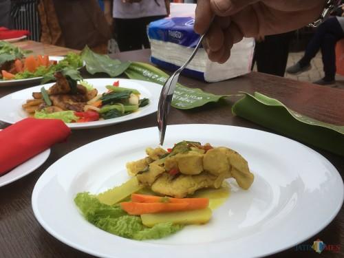 Salah satu menu makanan yang disajikan di rumah makan yang ada di Kabupaten Malang (Foto : Ashaq Lupito / MalangTIMES)