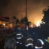 Kebakaran Perdana di Bulan September, Lahan Tebu 4 Hentar di Pakisaji Nyaris Ludes Terbakar