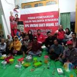 Ratusan Pendukung Siap Antar Whisnu Daftar Cawali Surabaya ke DPC PDIP