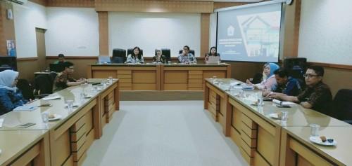 Sosialisasi Aplikasi JAGA KPK di Dinas Pendidikan Kota Malang. (Foto: Humas)