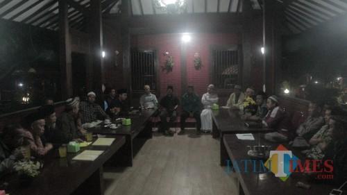 Pertemuan kader PKB Kota Blitar menyepakati desakan kepada DPC untuk segera memunculkan calon di pilwali 2020.(Foto : Aunur Rofiq/BlitarTIMES)