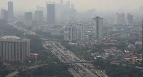 Hari Ini, Udara DKI Jakarta Terpolusi Ketiga di Dunia