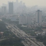 Suasana Jakarta yang diselimuti asap polusi. (Foto: istimewa)
