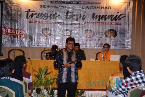 Kegiatan Seminar Patah Hati Nasional di Kota Malang. (Foto: Nurlayla Ratri/MalangTIMES)