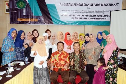 Kegiatan UIN Mengabdi LP2M UIN Malang. (Foto: Humas)