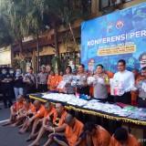 Kota Malang Jadi Pangsa Pasar Dobel L, Polisi Amankan 195.638 butir, 200 Ribu Generasi Muda Selamat