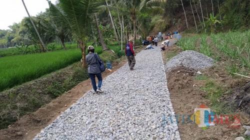 Proses pendampingan desa oleh pendamping desa di bidang pembangunan. (dd nana)