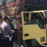 Rawan Kecelakaan, Polres Malang Razia Puluhan Pengemudi Kendaraan Muatan