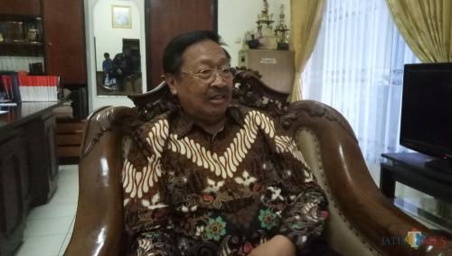 Pakar Hukum Tata Negara, yang juga Ketua Senat Um dan Rektor Unidha (Anggara Sudiongko/MalangTIMES)