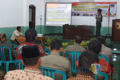 Komsos Tangkal Radikalisme/Separatisme yang digelar Kodim 0808/Blitar.(Foto : Aunur Rofiq/BlitarTIMES)