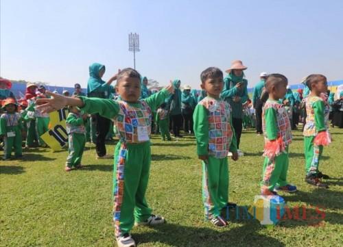 Di pundak-pundak anak usia dini inilah, nasib bangsa disampirkan ke depannya. (Disdik Kabupaten Malang for MalangTIMES)
