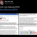 Tere Liye Tulis Drama (Menjurus) Lebay untuk Dukung KPAI, Warganet: Opini Paling Absurd