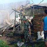 Ditinggal Kerja, Rumah Warga Gumukmas Terbakar