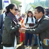 Menteri BUMN Rini Soemarno Berjanji Libatkan BUMN Untuk Kembangkan Wisata Ranu Pane