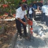 Jaga Kulitas Aspal Jalan di Kawasan Dieng, Dinas PU Lakukan Core Drill