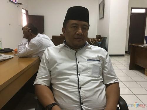 Muslimin selaku Sekretaris DPC PKB Kabupaten Malang, saat ditemui di kantor DPRD Kabupaten Malang (Foto : Ashaq Lupito / MalangTIMES)
