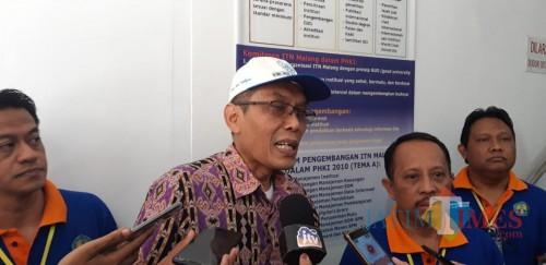 Sekretaris Lembaga Layanan Pendidikan Tinggi (LL-DIKTI) Wilayah VII Jawa Timur, Dr Widyo Winarso MPd. (Foto: Imarotul Izzah/MalangTIMES)