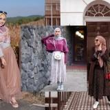Inspirasi Gaya Hijabers Kenakan Rok Kekinian, Simple dan Anggun