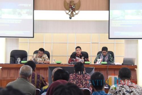 Melalui DLHKP, Pemkot Kediri Gelar FGD RPPLH Kota Kediri 2019. (Foto: Ist)