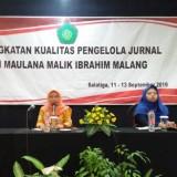 Tingkatkan Kualitas, 40 Pengelola Jurnal UIN Malang Digembleng dalam Studi Banding