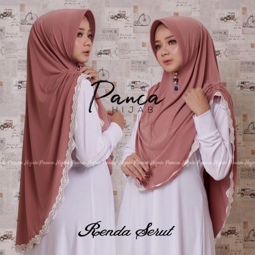 Salah satu model hijab dari Panca Hijab Malang. (Foto: Dokumentasi Panca Hijab Malang)