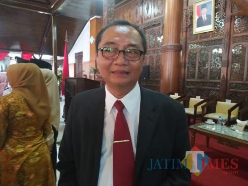 Kabag Pemerintahan Kabupaten Tulungagung, Usmalik / Foto : Anang Basso / Tulungagung TIMES