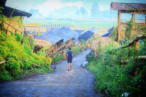 Jalan desa wisata menjadi prioritas lain Dinas PU Bina Marga untuk meningkatkan status dan kualitasnya melalui 2 opsi (dolan dolen)
