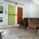 Rumah Sidik tampak sepi pasca ditangkap Selasa malam lalu (foto : Joko Pramono/JatimTIMES)