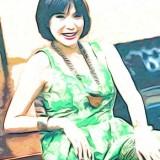 Model dan artis cantik Olga Lidya menyampaikan pendapatnya terkait KPK (Ist)