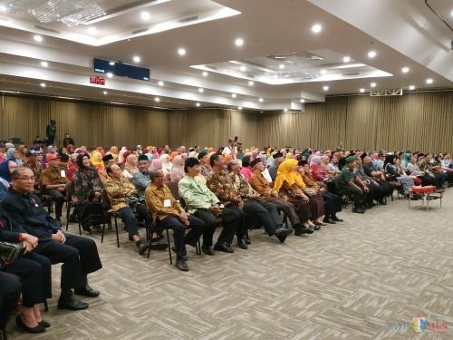 Suasana peringatan Hari Jadi Lansia ke 23 Kota Malang (Hendra Saputra)