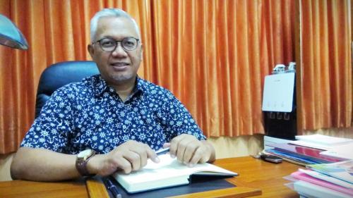 Prof. Candra Fajri Ananda saat ditemui di Universitas Brawijaya (UB) Malang.
