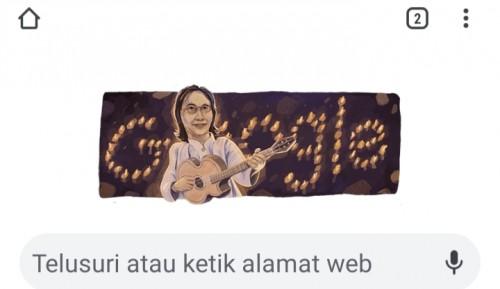 Google Doodle hari ini tampilkan sosok jenius Chrisye.
