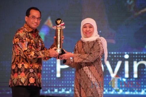 Jawa Timur Tempati Peringkat Pertama Anugerah  Wahana Tata Nugraha