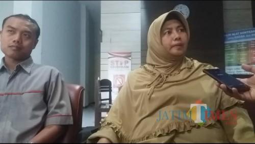 Nur Hidayah, Kabid Rehabilitasi Sosial Dinkes, PPPA Dan KB Kabupaten Tulungagung / Foto : Anang Basso / Tulungagung TIMES