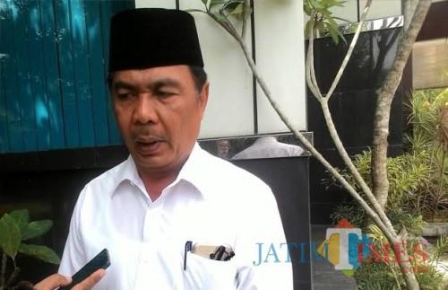 Romdhoni Kepala Dinas PU Bina Marga Kabupaten Malang memiliki harapan terkait terwujudnya jalan pariwisata yang representatif (Nana)