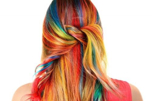 Salah satu pewarnaan rambut. (Foto: istimewa)