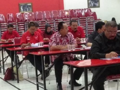 Suasana ujian bursa Cawabup Tulungagung (ist)