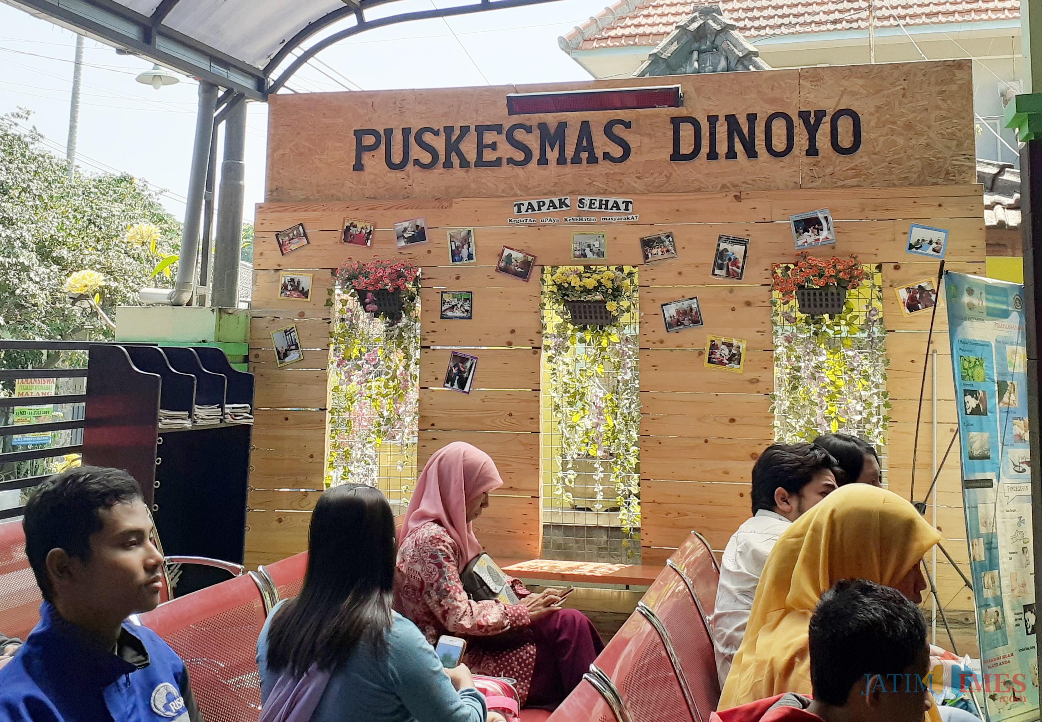 Tapak Sehat Puskesmas Dinoyo. (Arifina Cahyanti Firdausi/MalangTIMES)